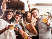 College-Age Binge Drinkers May Face Higher Blood Pressure